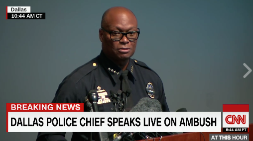 """Dallas Police Chief David Brown: """"We're Hiring…Get Off That Protest Line and Put an Application In"""""""